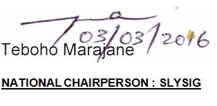 2016 teboho's signature